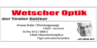 Wetscher Optik